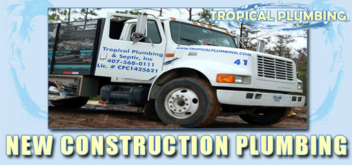 Tropical Plumbing New Construction